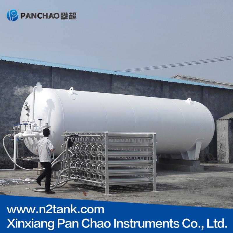 The inner design and structure of liquid nitrogen dewar